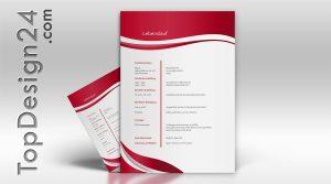Bewerbung Deckblatt-Vorlagen und Muster