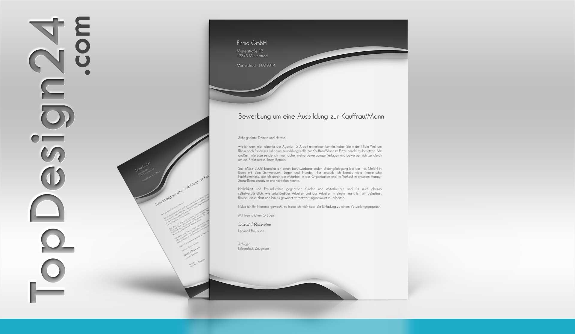 Vorlage Bewerbungsschreiben Muster Bewerbungsschreiben