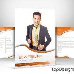 Deckblatt Bewerbung 2017 Topdesign24 Bewerbungsvorlage Word 2017