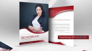Muster-Bewerbung-Deckblatt-Topdesign24