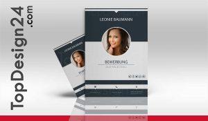 Design Bewerbung Kreativ Deckblatt