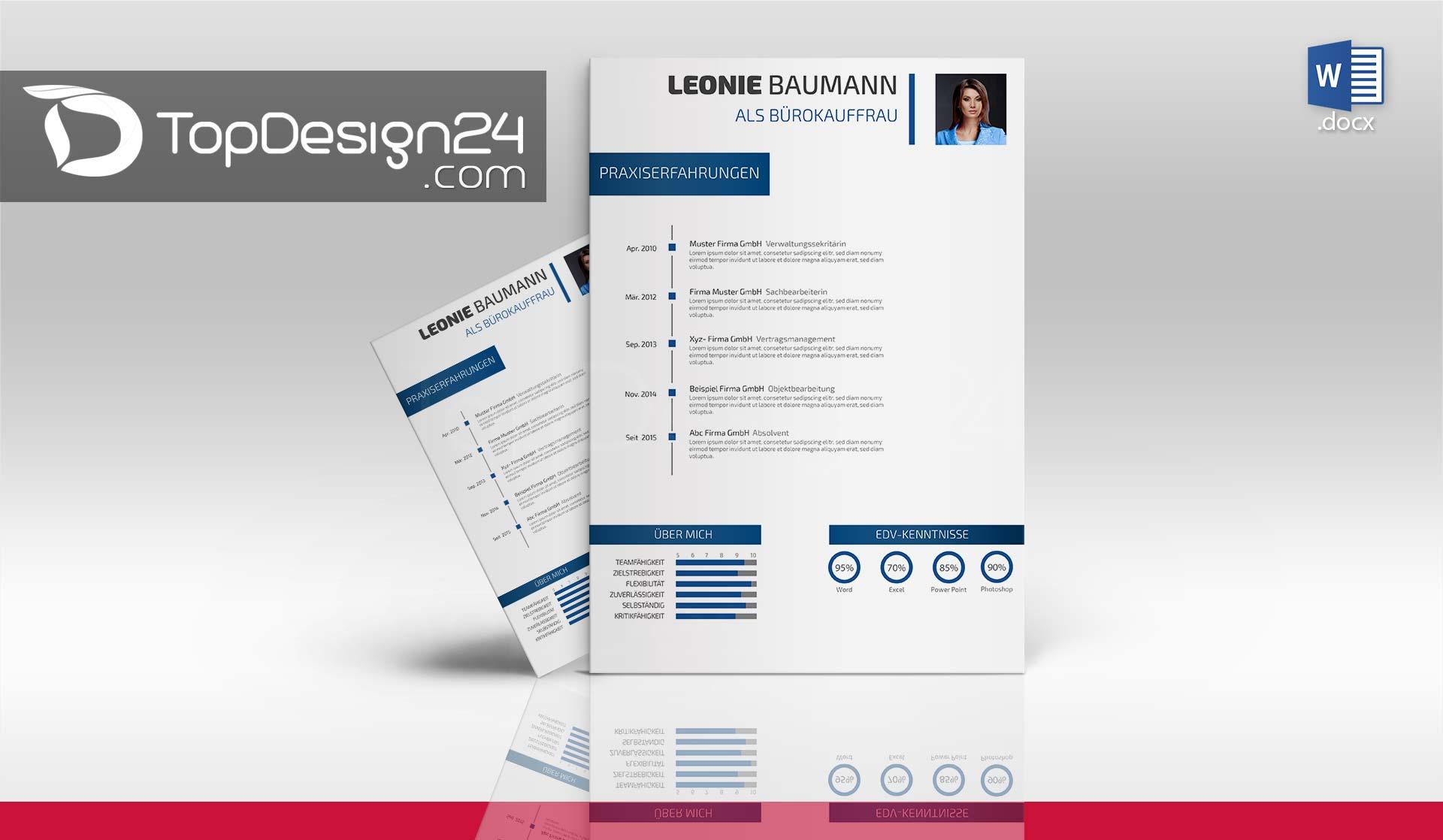 bewerbung design downloaden - Ausfuhrlicher Lebenslauf Muster