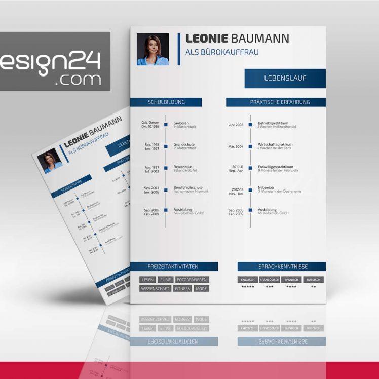 bewerbung design  lebenslauf