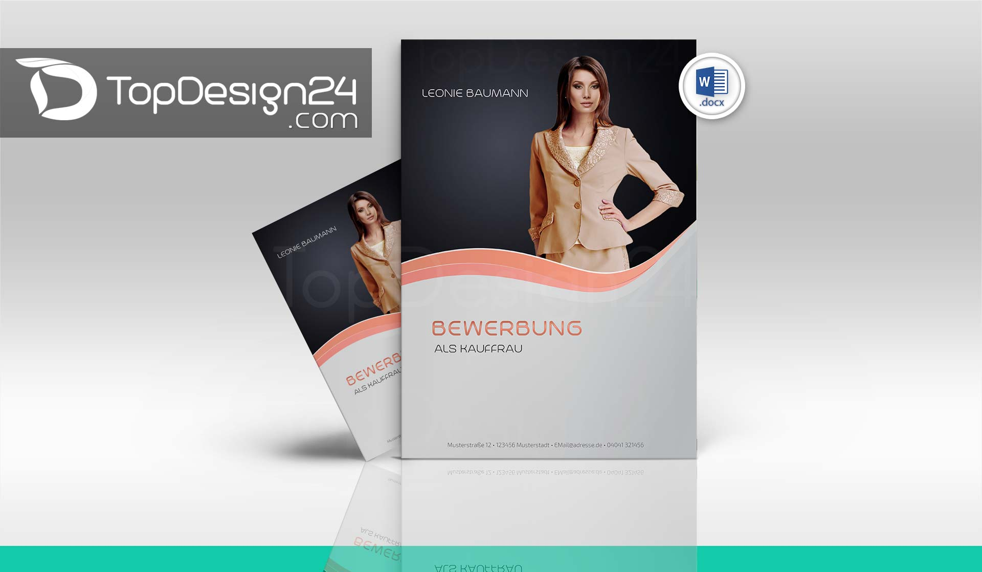 Bewerbung Muster Download Topdesign24 Deckblatt Lebe