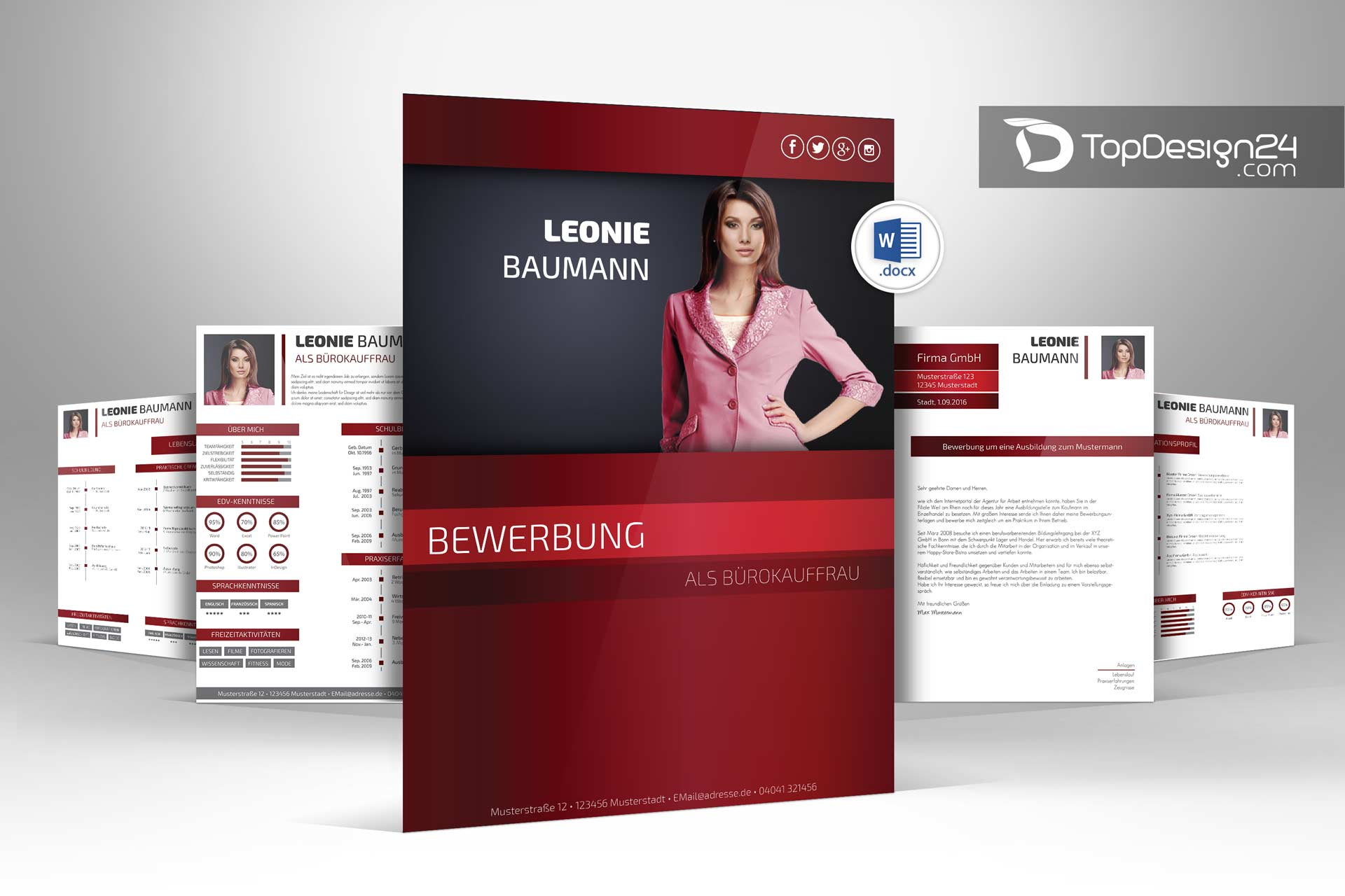 online bewerbung design email · deckblatt design bewerbung