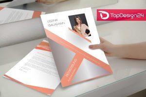 Initiativbewerbung Beispiel- Deckblatt