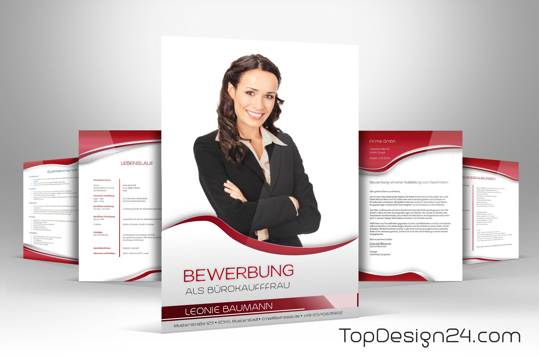 Praktikum bewerbung vorlage rot topdesign24 for Praktikum design