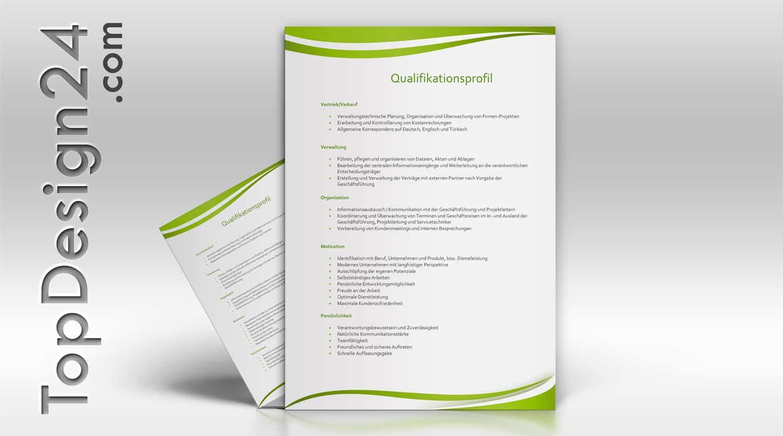 Bewerbung Deckblatt Vorlagen -TopDesign24- immer neu