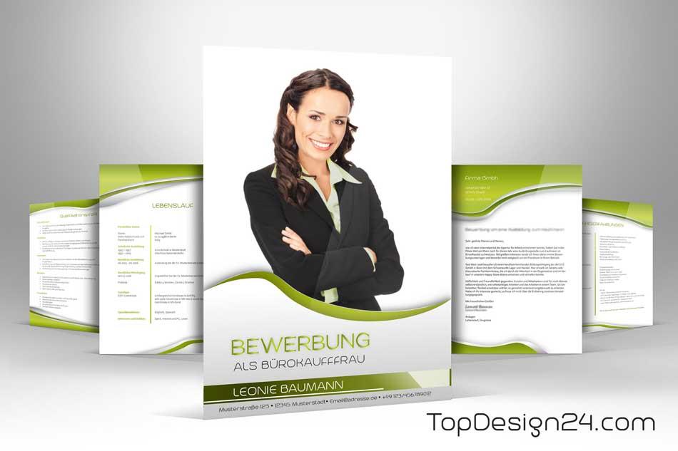Bewerbung Deckblatt Vorlagen Topdesign24 Immer Neu
