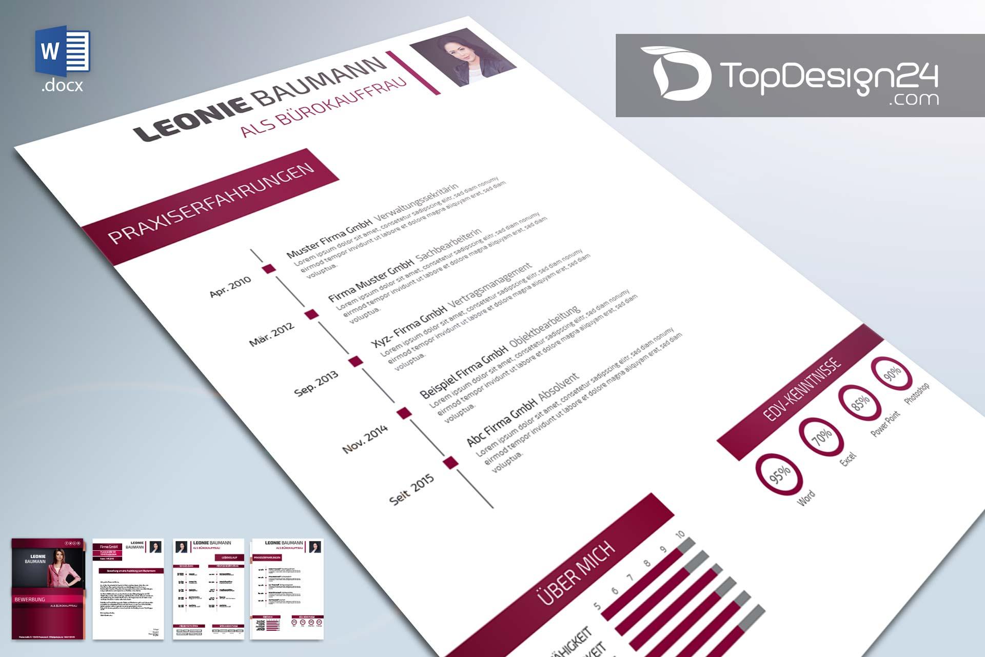 Bewerbung per Email schreiben -TopDesign24- wir zeigen es