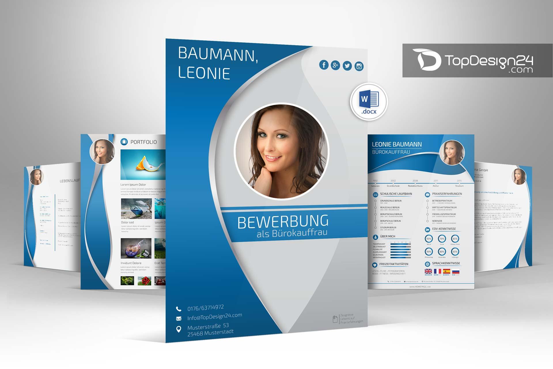 Bewerbung Design Topdesign24 Klassischstilvollmodern