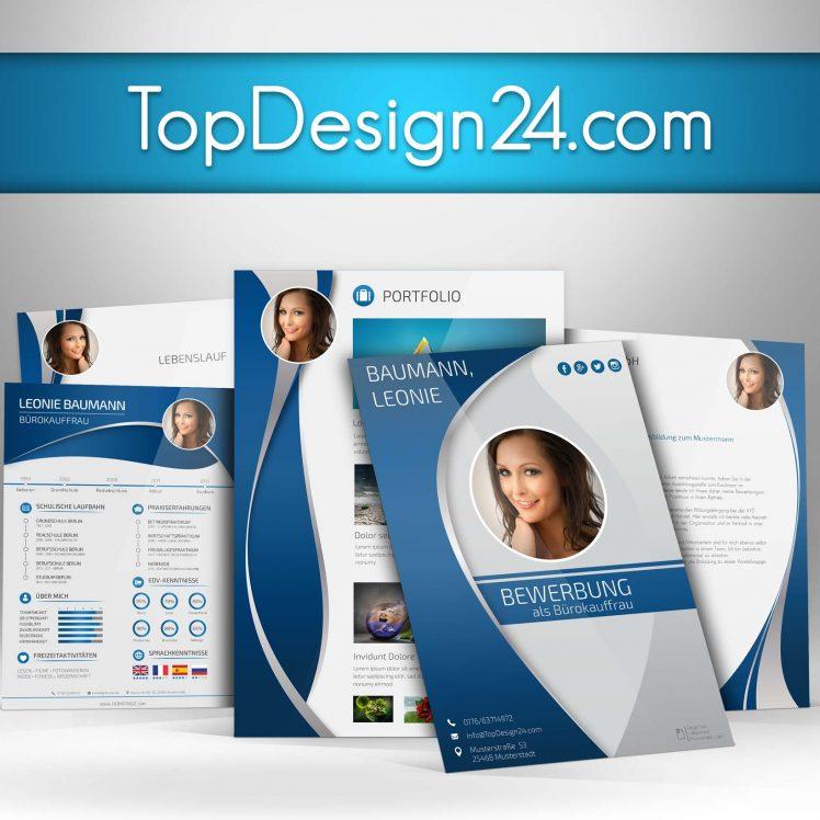 Bewerbung Designvorlagen