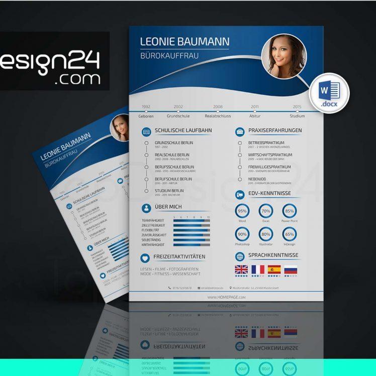 Bewerbung Designvorlagen Topdesign24 Bewerbungsvorlagen