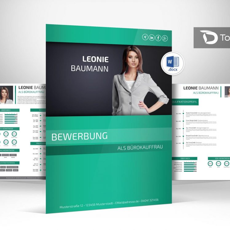 layout deckblatt bewerbung - Deckblatt Bewerbung