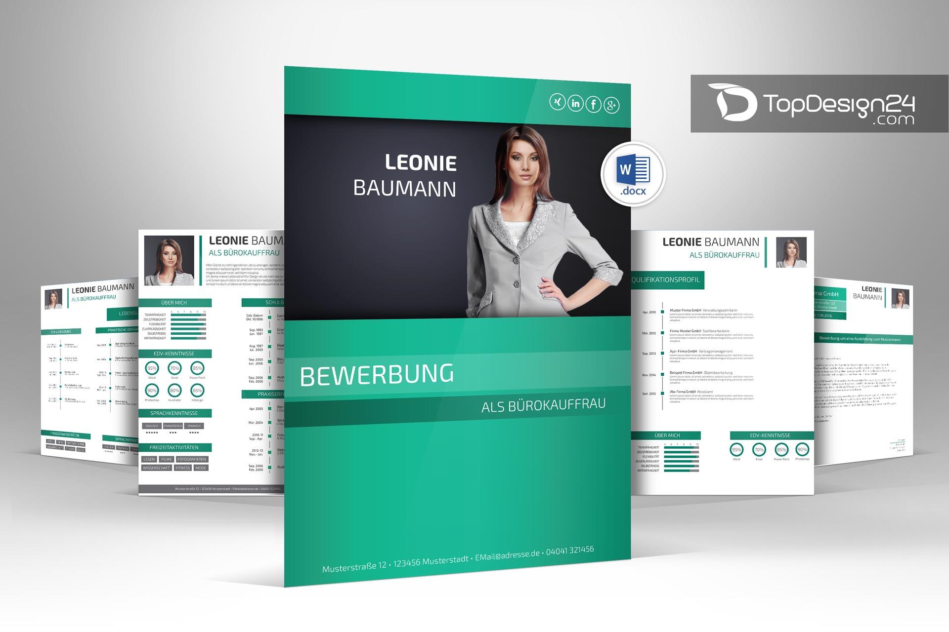 layout deckblatt bewerbung - Layout Bewerbung