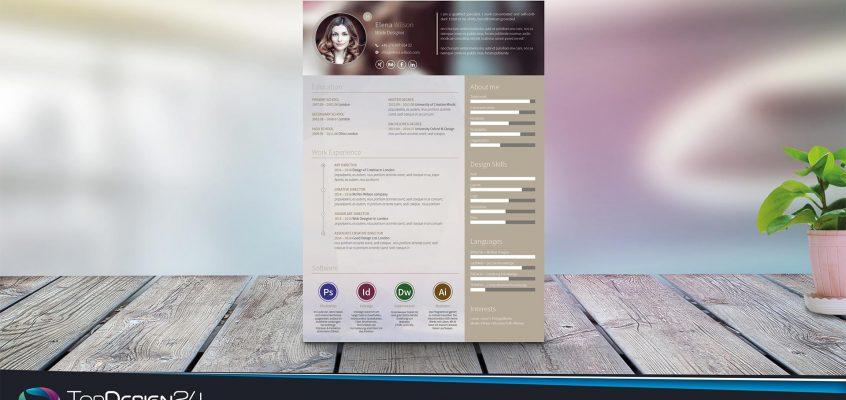 Lebenlsuaf-Design Kostenlos Download