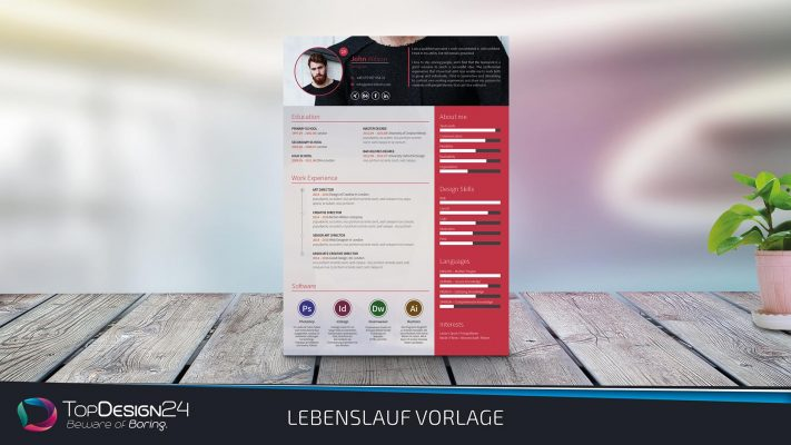 Lebenlsuaf-Design-Word Kostenlos Download