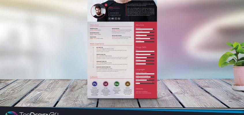 Lebenlsuaf-Design-Word Kostenlos Download