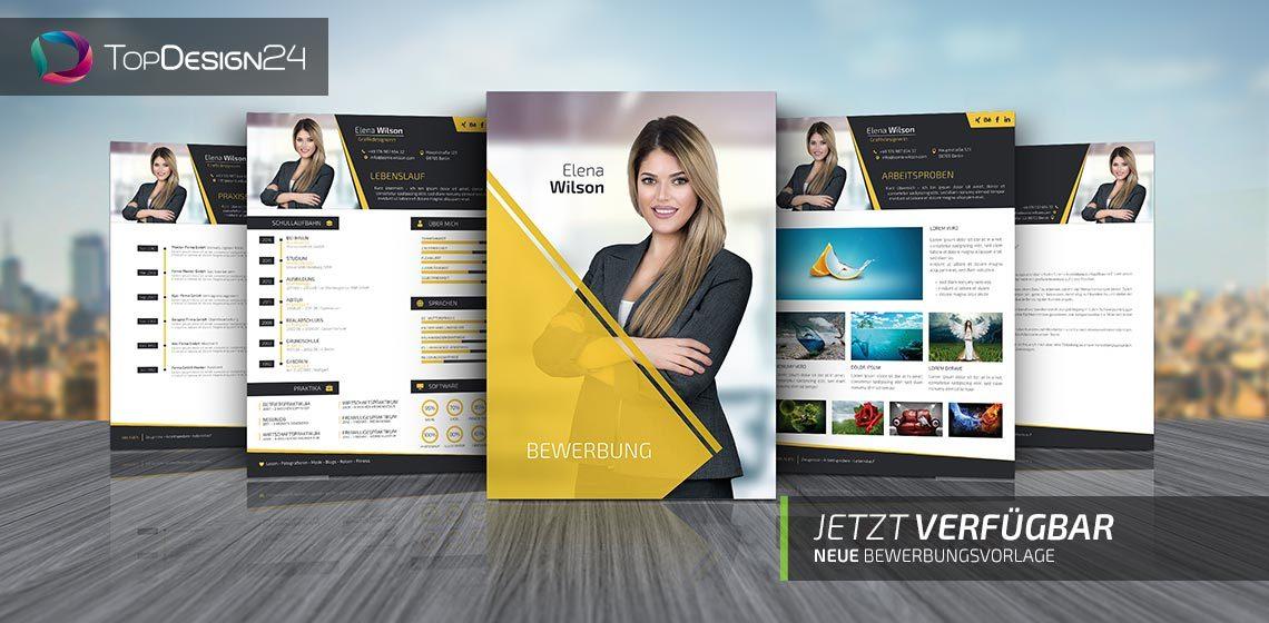 Topdesign24 Moderne Vorlagen Wie Bewerbung Design